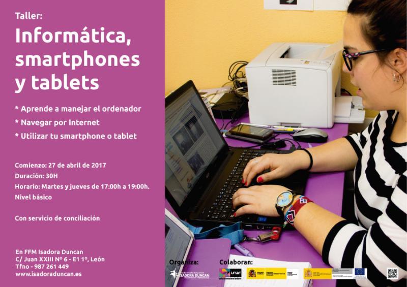 Informática smartphone y tablet con Isadora Duncan