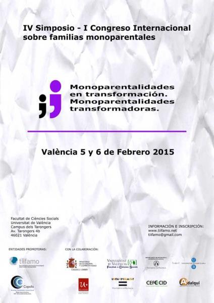 IV Simposio I Congreso Internacional de Familias Monoparentales