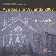 cartel ayuda vivienda 2008