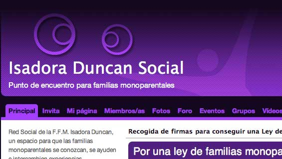 isadora Duncan Social