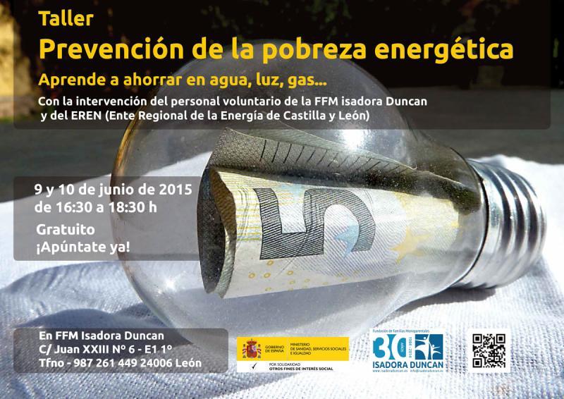 Taller prevención de la pobreza energética