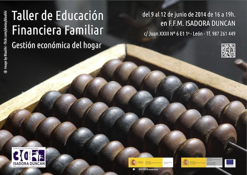 Taller de educación financiera familiar