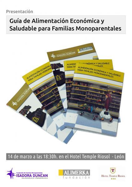 isadora Duncan presenta la 1º Guía de Alimentación Económica y Saludable para Familias Monoparentales
