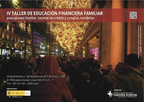 IV Taller educacion financiera familiar