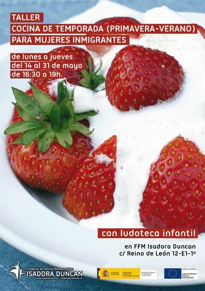 Taller de cocina española de temporada