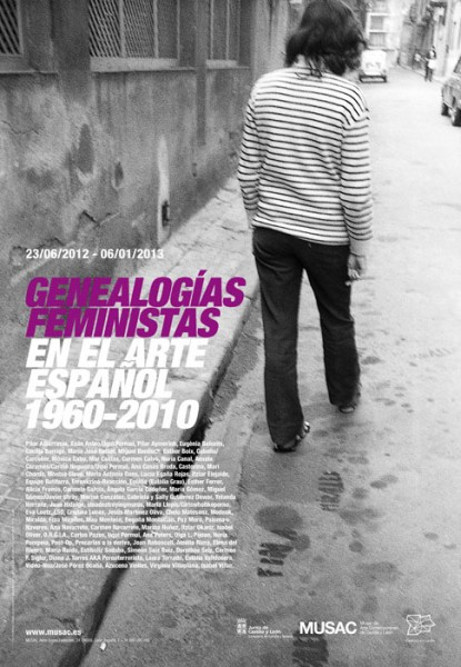 Cartel Genealogías femistas 1960-2010