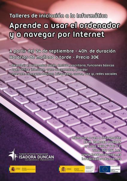 Cursos de informática en Isadora Duncan