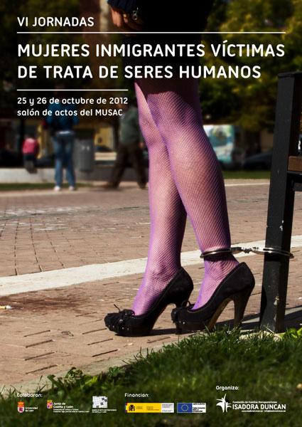 VI jornadas, Las mujeres inmigrantes víctimas de la trata de seres humanos