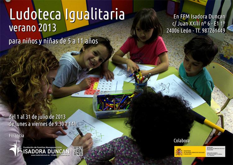 Ludoteca igualitaria 2013
