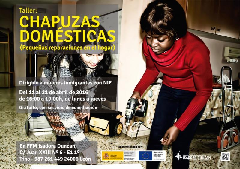 Cahpuzas domésticas, pequeñas reparaciones en el hogar, Isadora Duncan