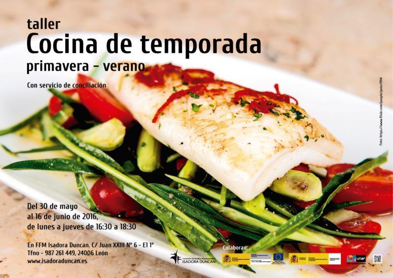 Taller cocina de temporada primavera-verano 2016