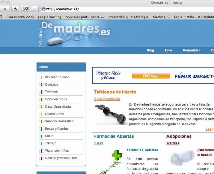 www.demadres.es