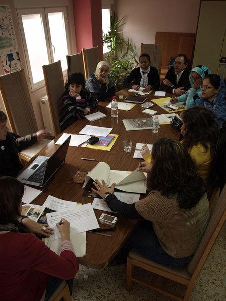Reunión de asociaciones de inmigrantes