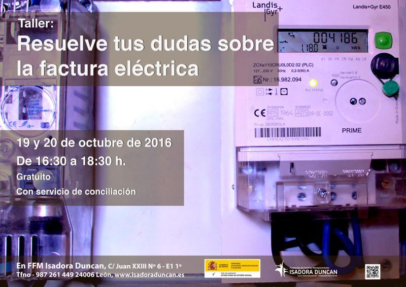 Resuelve tus dudas sobre la factura eléctrica
