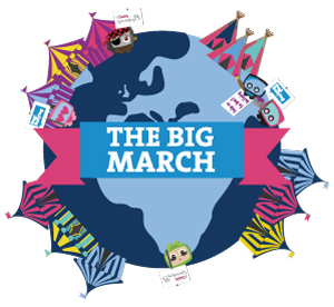 The Big March Globe