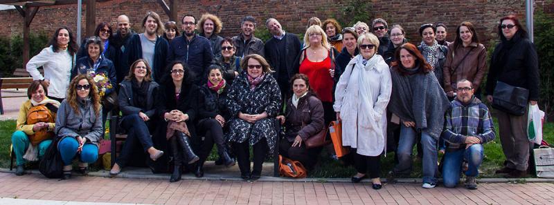Participantes en el programa Grundtvig SRONGMOTHER