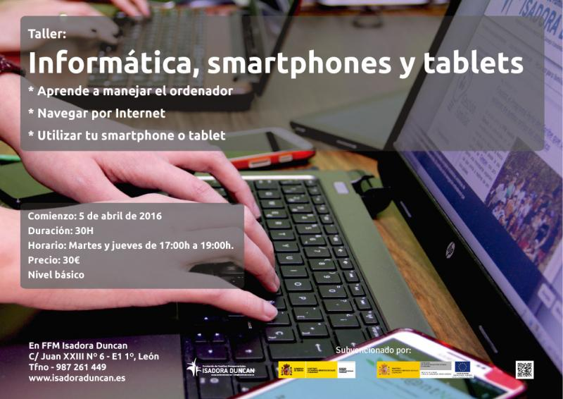 Informática, smartphones y tablets