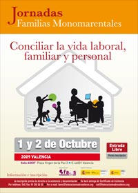 cartel federacion de asociaciones de madres solteras