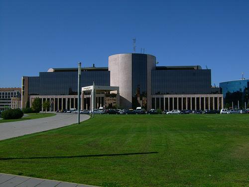 vista del edificio de la Junta en León
