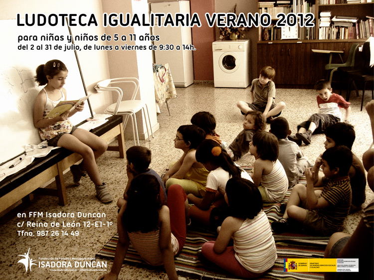 Ludoteca igualitaria 2012 en Isadora Duncan