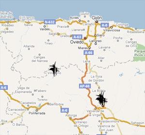 Mapa de Ayuntamientos amigos de las Familias Monoparentales