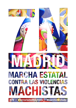 Marcha contra las violencias machistas 7N
