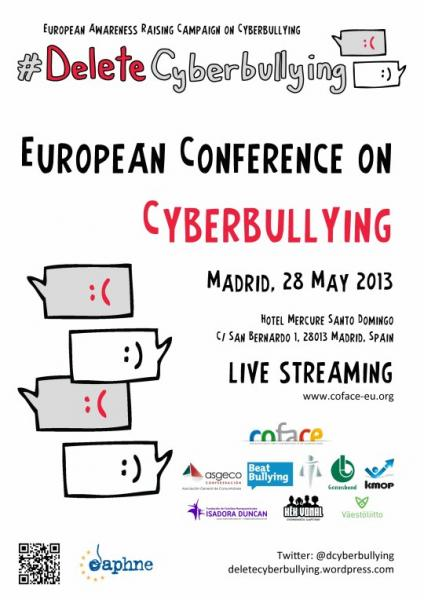 I European Conference on Cyberbullying