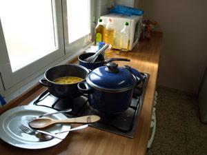 pucheros dell taller de cocina