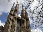 Catedral de la sagrada familia en Barcelona