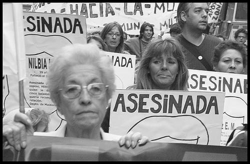manifestacion contra asesinatos