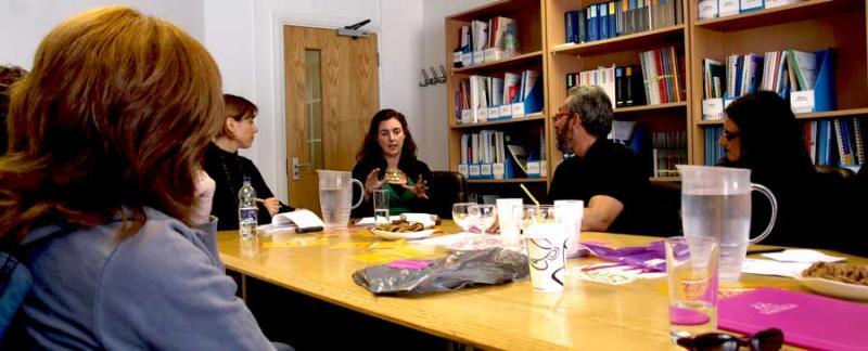 Reunión con la asociación Women Like Us